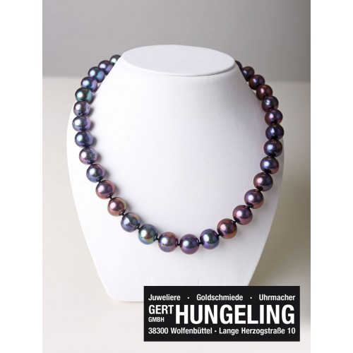Halskette violett