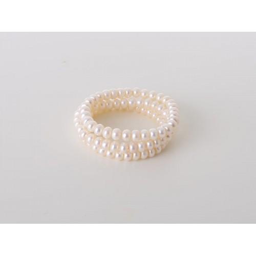 Perlarmbänder (3 er Set) weiß - Juwelier Hungeling