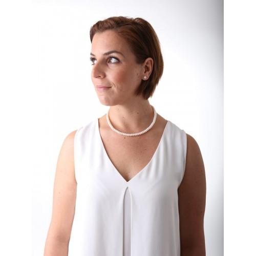 Perlenkette weiß - Juwelier Hungeling