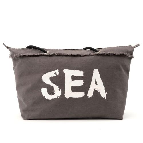 Sanddollar Beach Bag XXL ' Out Da Sea Grey'