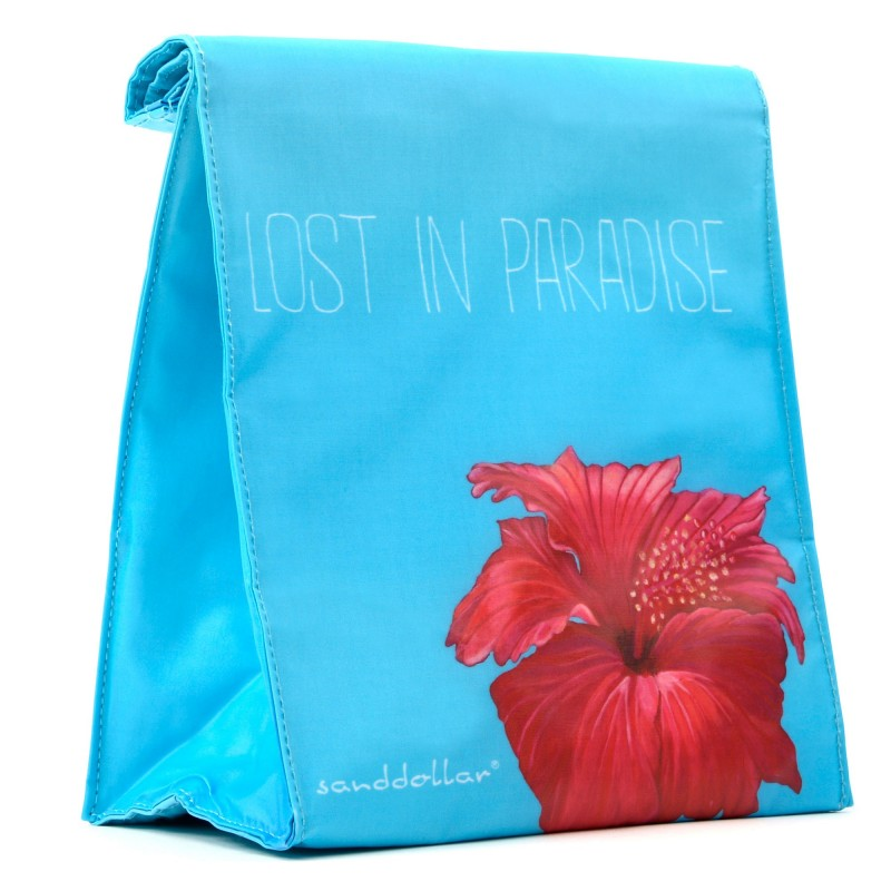 "Sanddollar Lunchbag ""Lost In Paradise"""