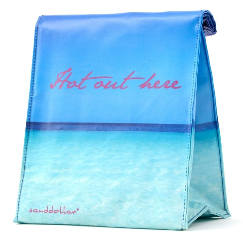 "Sanddollar Lunchbag ""Hot Out Here"""