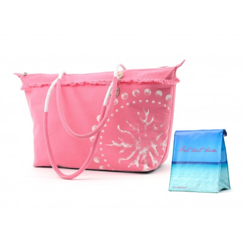 Sanddollar Beach Set - Beachbag + Lunchbag